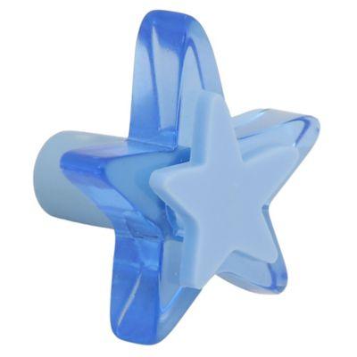 Estrela Metacrilato Azul