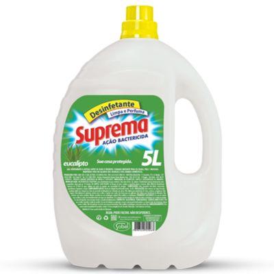 Desinfetante Ação Bactericida Eucalipto 5L Branco
