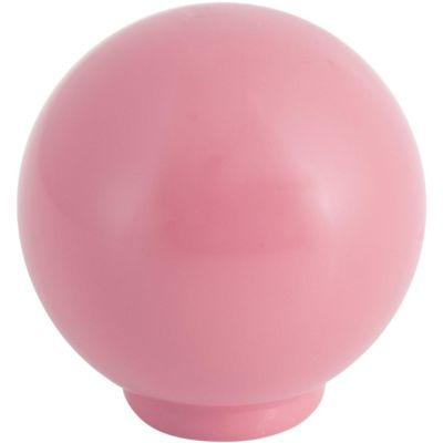 Puxador para Móveis Botão 2,9cm Rosa