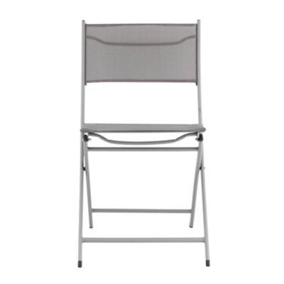 Cadeira Dobrável Madri 46x56x82cm Taupe