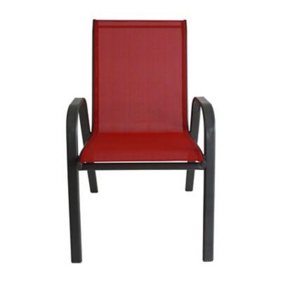 Cadeira Sling 55,5x73x91cm Vermelho