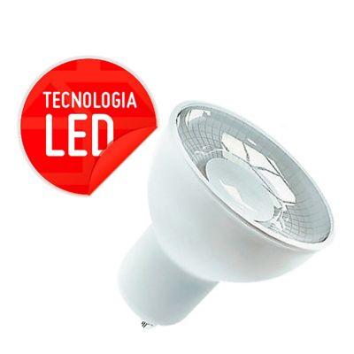 Lâmpada LED Dicróica Gu10 4,5W 6000K Bivolt