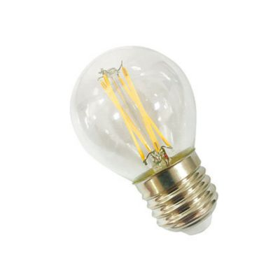 Lâmpada LED Bolinha Filamento 4W 2700K Bivolt