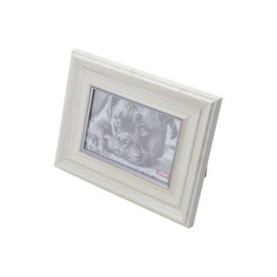 Porta-Retrato Wood Style 18x23cm Bege