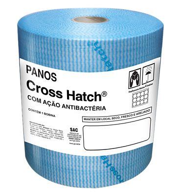 Pano Cross Hatch 60g/m² 200m x 30cm Azul