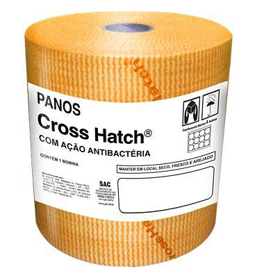 Pano Cross Hatch 40g/m² 300m x 30cm Laranja