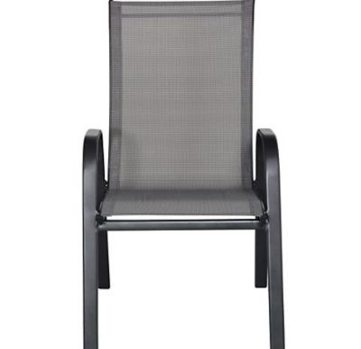 Cadeira Sling Empilhavel Cinza