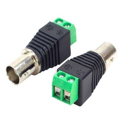 Adaptador Borne para plug BNC Fêmea 1cm