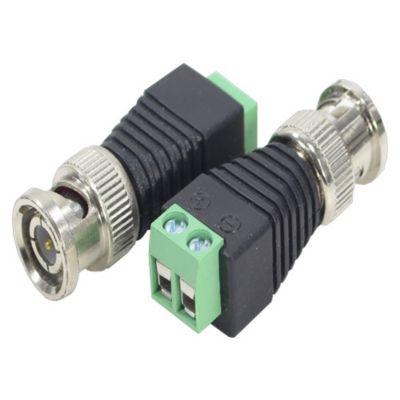 Adaptador Borne para plug BNC Macho 1cm