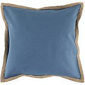 Almofada Hidrorepelente Yute 50x50cm Azul