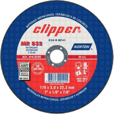 Disco Norton C.Refr.177.8X3.2X22.2 Mr832