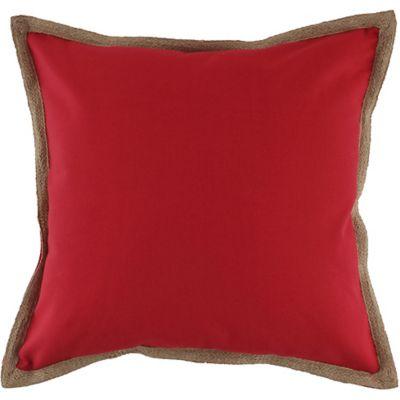 Almofada Hidrorepelente Yute 50x50cm Vermelho
