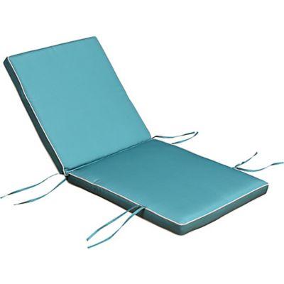Almofada de Poliéster para Cadeira UV50 115x55cm Azul