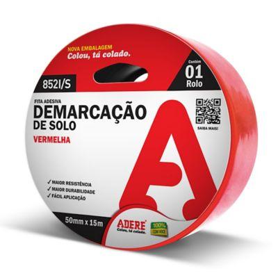 Fita Demarcacao de Solo 50mmx15m Vermelho