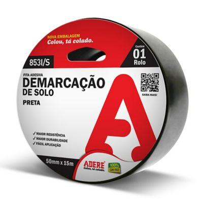 Fita Demarcacao de Solo 50mmx15m Preto