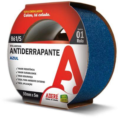 Fita Antiderrapante 50mmx5m Azul