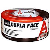 Fita Dupla Face Papel 50mmx30m Branco