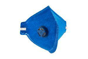 Máscara Pff2 Valvulada Pro Agro Azul