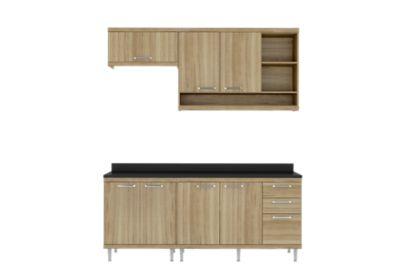 Cozinha Tampo Argila 51,5x231,5cm