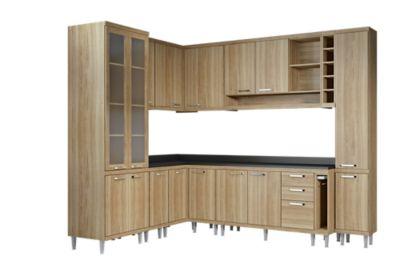 Cozinha Tampo Argila 180x231,5cm
