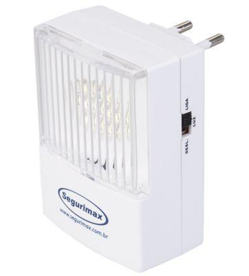 Iluminacao de Emergencia Led 50 Lumens Plug Retratil 110/220