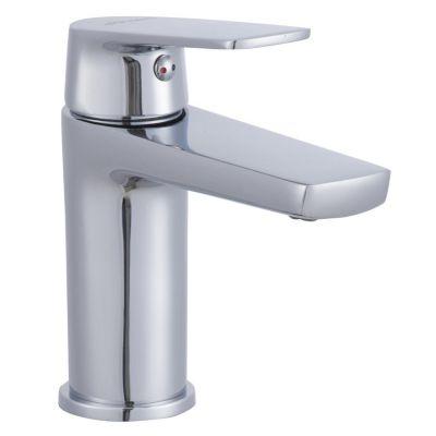 Monocomando Banheiro Bica Baixa Lucena Cromado Sensi D'acqua
