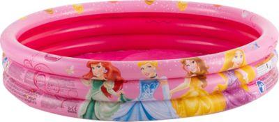Piscina Infantil Inflável Princesas Redonda 140 Litros Rosa para 1 Pessoa