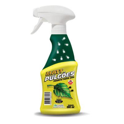 Matt Pulgões Spray Pronto Uso 500ml Amarelo