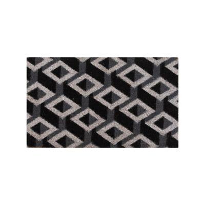 Capacho Labirinto 45x75cm Colorido