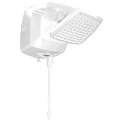 Ducha Futura Eletrônica 28x38cm 5500W 127V Branco