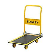Carro Plataforma de Carga Dobrável 150Kg Amarelo