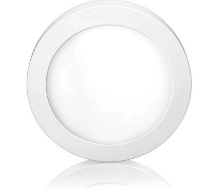 Luminária LED de Sobrepor Downlight 18W 6500K Redondo Bivolt Branco