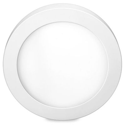 Luminária Redonda de Sobrepor Downlight Led 24W 6500K Bivolt Branco