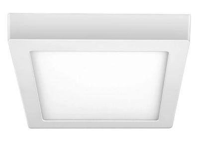 Luminária de Sobrepor Quadrada Downlight LED 18W 6500K