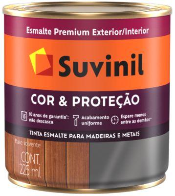 Suvinil Esmalte Cor&Proteção Brilhante Branco 0,225L