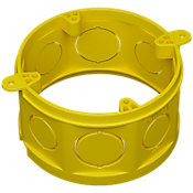 Prolongador Caixa de Luz Octogonal 4x4 Amarela