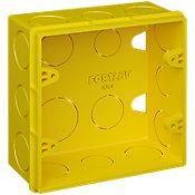 Caixa de Luz 4x4 Amarela