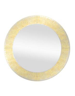 Espelho Redondo Rovigo 60cm Dourado
