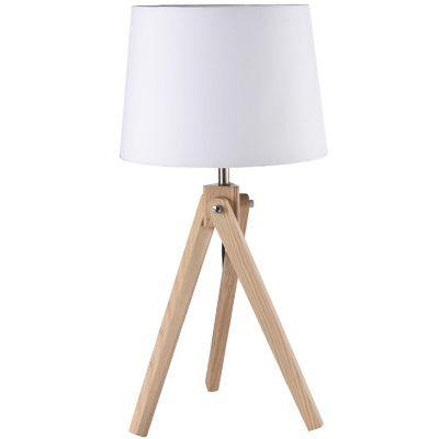 Abajur Sivas 1 Lâmpada E27 60cm Branco