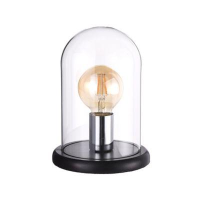Lâmpada de Mesa 1 Luz Manisa E27 Transparente