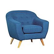 Poltrona Wald83x85x86cm Azul