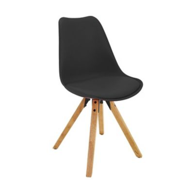 Cadeira Eames Leda Cooper Chair Preto