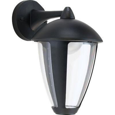 Arandela 2 Lampâdas para Parede 8W 28cm Preto