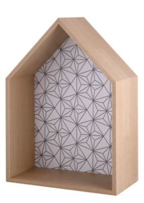 Conjunto de 3 Nichos Casa com Desenho Just Home Collection