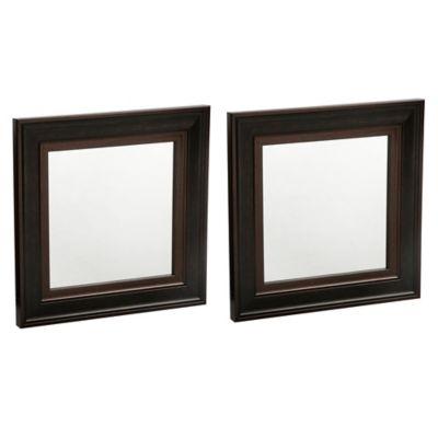 Set 2 Espelhos Café