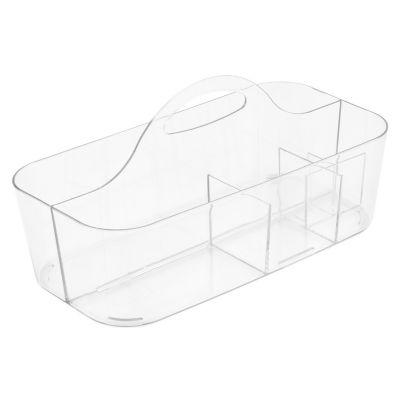 Organizador Banho Clarity Transparente