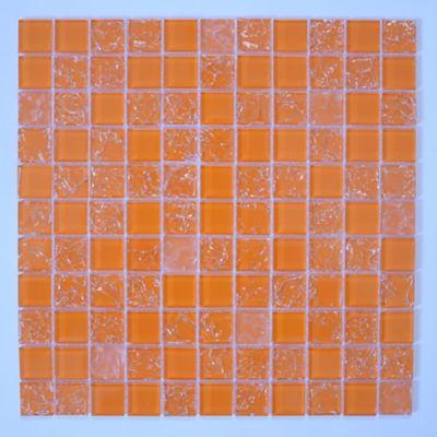 Pastilha de Vidro Color Laranja 29,5x29,5cm