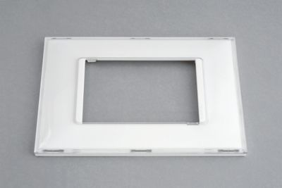 Placa Pialplus+ Kristal 4X2 3 Postos