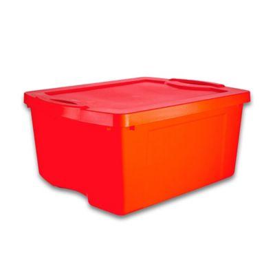 Caixa Organizadora Fullbox 47x27x60 cm 55L Vermelho