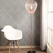 Luminária de Piso Leiden Metal 1 Lâmpada E27 40W Cobre